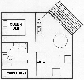 beach bungalow floor plan
